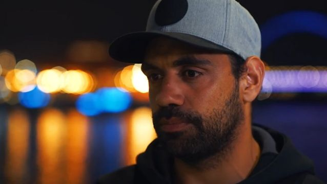Former AFL star Chris Yarran in his video about ice addiction