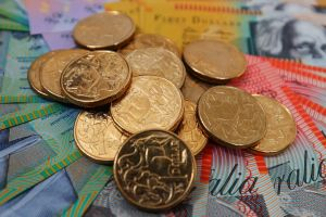 Westpac's Imre Speizer expected the Australian dollar to find support around the 79 US cent mark on Monday.