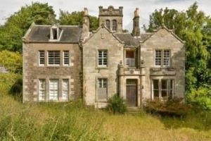 The six-bedroom home is just nine kilometres from Dundee.