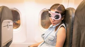 Window shades up or down? It's a personal choice, so bring a mask if you want to sleep.