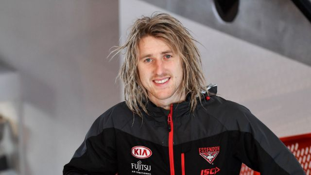 Cultural shift: Dyson Heppell is leading the new Essendon.