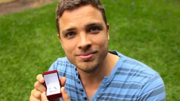 A man proposes to his partner in Get Up's 2011 marriage equality ad.