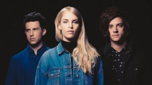London Grammar reveal the heavy toll of touring: (From left) Dan Rothman, Hannah Reid and Dominic 'Dot' Major.