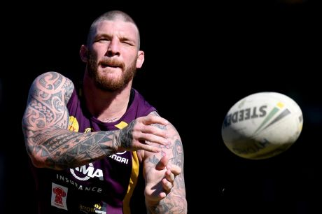 Lining them up: Josh McGuire is looking ahead to another clash with Parramatta.