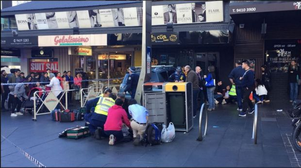 Car Rams Into Shop in Sydney Injuring Several People