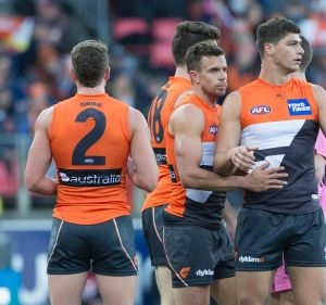 Final frontier: Josh Kelly has declared Greater Western Sydney's top two showdown with Geelong the perfect finals ...