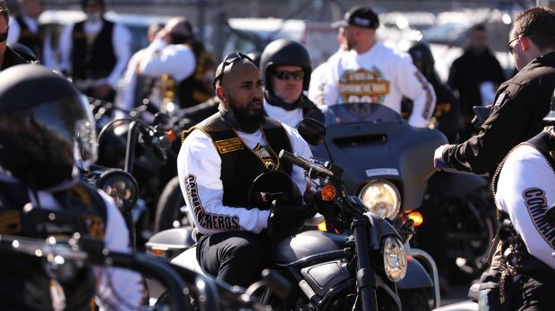 Almost 200 Commanchero bikies are expected in Canberra this weekend.