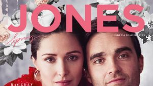 The actress made the announcement in the new issue of David Jones' magazine.