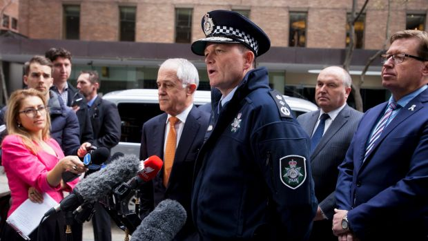 Commissioner of the Australian Federal Police Andrew Colvin.