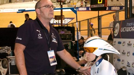 Big loss: Australian cycling is in mourning after the death of veteran track coach Gary West.