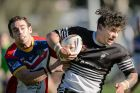 Canberra Raiders Cup rugby league minor semi-final: Yass Magpies v Tuggeranong Bushrangers. Magpies' Shaun Davis tries ...
