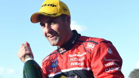 Revved-up: Jamie Whincup has closed the gap on Scott McLaughlin in the Championship race.