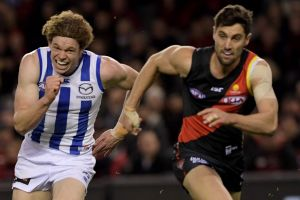 Sprint finish: Essendon must beat Fremantle, but could still get knocked out of the eight on percentage.