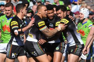 On the right track: Penrith have now won seven in a row.