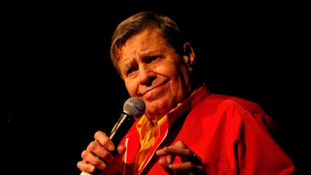Jerry Lewis in town for the Muscular Dystrophy family day.