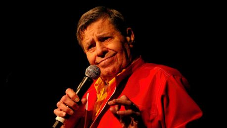 Jerry Lewis, in Sydney for the muscular dystrophy family day at Star City, 2009.