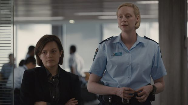 Elisabeth Moss and Gwendoline Christie in Top of the Lake: China Girl.