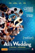 Poster for the film Ali's Wedding