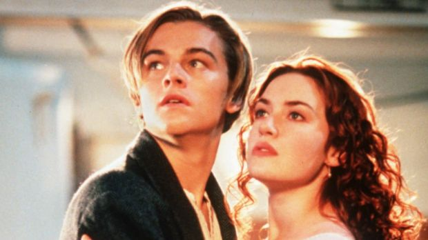 Leonardo DiCaprio and Kate Winslet in the hit movie from 1997.