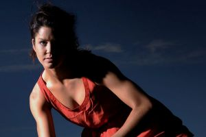 Canberra's Anna Flanagan is back to play in her home town since school.