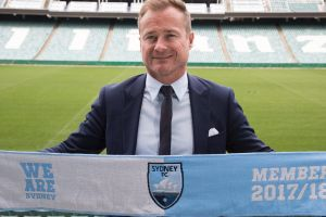 On board: New Sydney FC CEO Danny Townsend predicts further growth for the club.