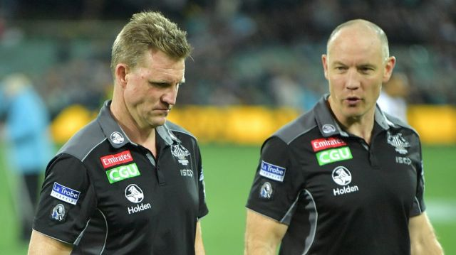 There's no timeline on a decision over Nathan Buckley's fate.