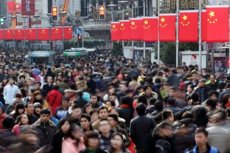 China's economy had seen better than expected 6.9 per cent GDP growth in the first half of 2017.