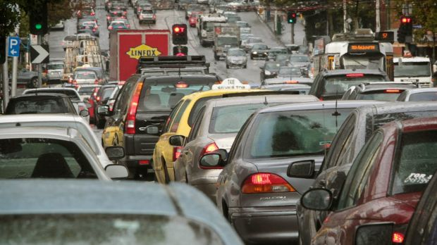 Matthew Guy wants to reduce congestion at busy intersections.