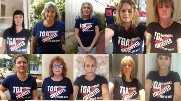 Australian Pelvic Mesh Support Group members fought for a Senate inquiry into how pelvic mesh devices were cleared for ...