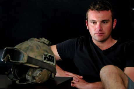 Chris May fought in Afghanistan with the Australian Defence Force.