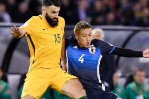 Midfield marshall: The fitness of Australia's Mile Jedinak remains up in the air ahead of the next round of World Cup ...