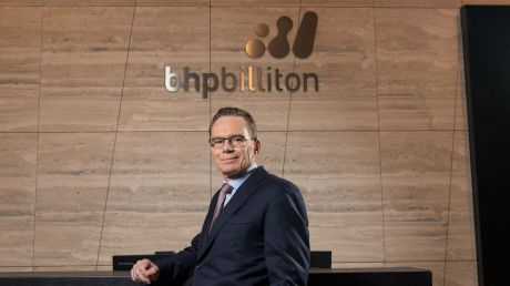 BHP chief executive officer Andrew Mackenzie.