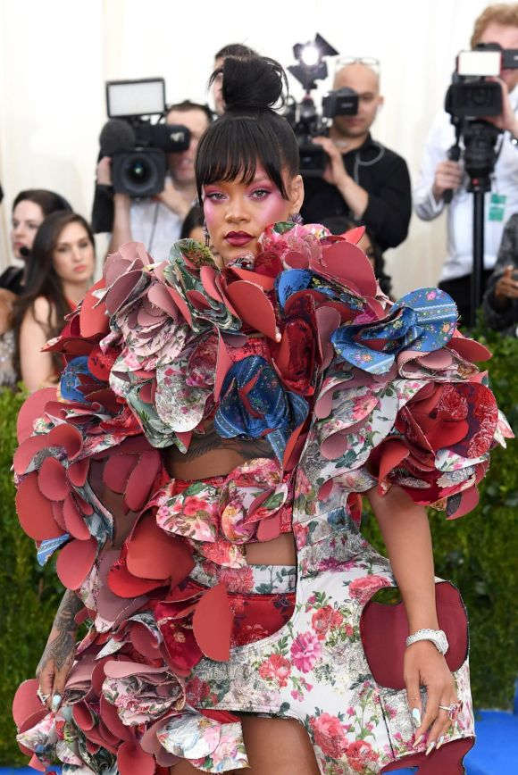 May: Rihanna once again shocks and shines at the annual Met Gala, which this year paid tribute to Rei Kawakubo, the ...