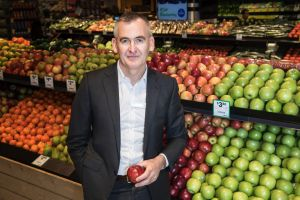 Woolworths CEO Brad Banducci received retention shares to stay at the grocery group.