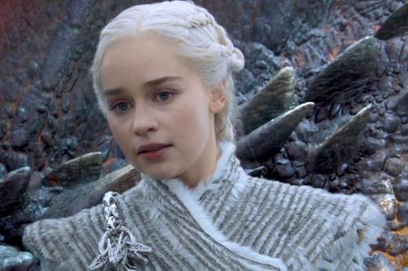 Daenerys with Drogon in Beyond the Wall.