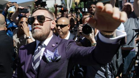 Conor McGregor has promised to knock Floyd Mayweather out inside two rounds.