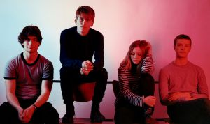 Norway's Slotface take the stage at Oxford Art Factory on Wednesday.