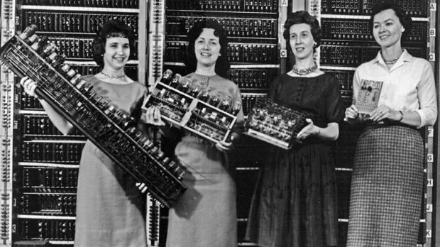 Women were the first computer programmers, then men crowded them out