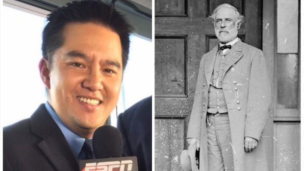 ESPN pulls announcer named Robert Lee from University of Virginia football game