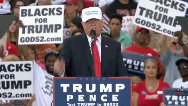 Meet the man behind the 'BLACKS FOR TRUMP' sign