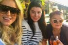 Francesca Packer shares pictures from Audi Hamilton Race Week with Roxy Jacenko (L) and Nicky Oatley (R)