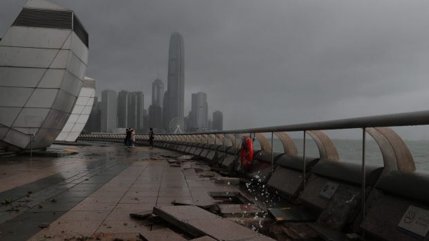 Typhoon Hato leaves 4 dead in Hong Kong, Macau