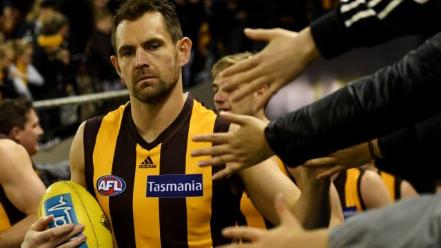 Hawks great Luke Hodge will  play his final game on Friday night.