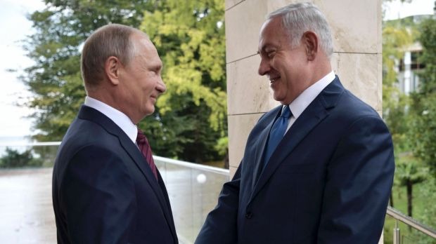 Israeli premier airs concerns to Russian Federation about Iran expansion