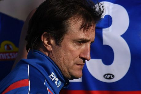 Bulldogs coach Luke Beveridge knows his charges have not played with the spark that won them the premiership.