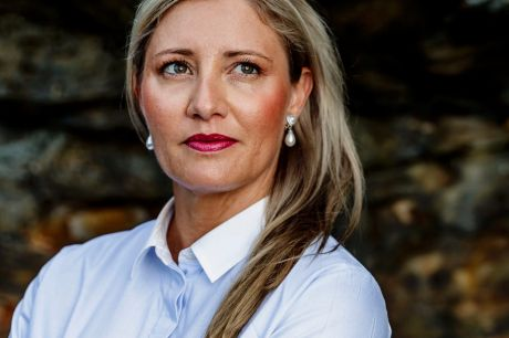 Disappointed: Former AOC CEO Fiona de Jong has rejected criticism made against her.