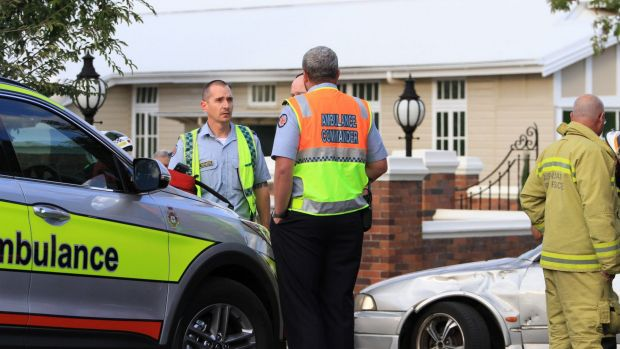 Woman cyclist critical after group collides with auto in Brisbane