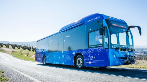 The ACT Government and Transport Canberra have trialed electric and hybrid buses.