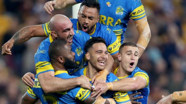 Finals time: The Parramatta Eels are in NRL finals one year after a salary cap scandal ripped the club apart.