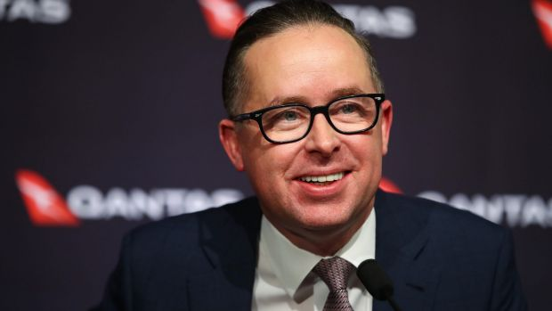 "Qantas CEO Alan Joyce: ""We are getting very close ... to getting the technology that will allow us to operate routes ..."